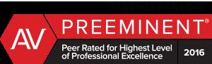 AV Preeminent Peer Reviewed Lawyer